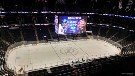 arena section terrace level side amalie arena hockey seating