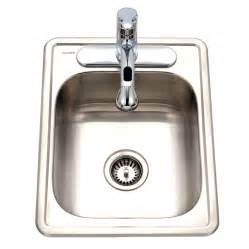 Ss Sink Specialty Large Topmount Stainless Steel Bar Sink