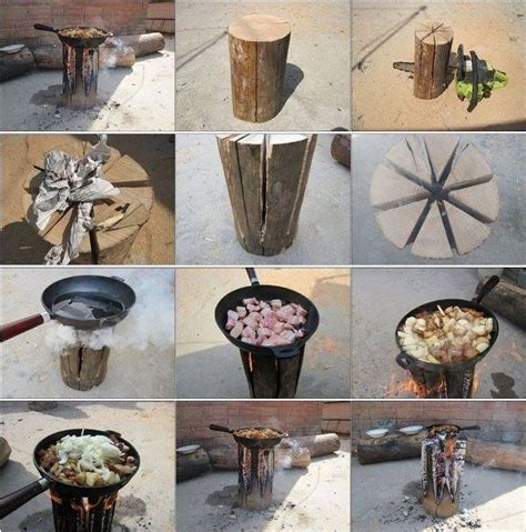 finnish style log stove tutorial