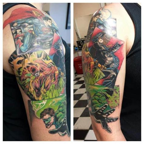 dc tattoos dc comic tattoos for ideas and inspiration for guys