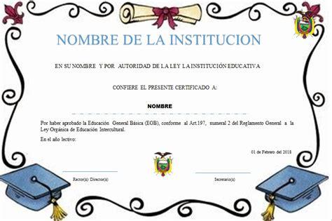 diplomas de primaria descargar diplomas de primaria plantillas de diplomas para terminaci 243 n de primaria