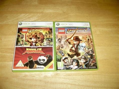 tutorial lego indiana jones xbox 360 xbox 360 lego indiana jones 1 2 kung fu panda bundle