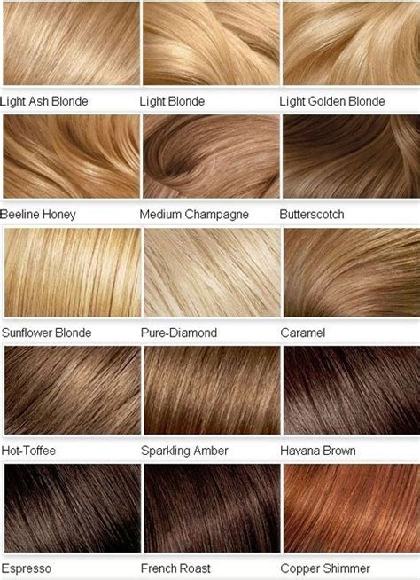 14 best hair color chart images on hair color charts lace wigs and synthetic hair 2014 color shades for hair color chart by sewell hair nails etc