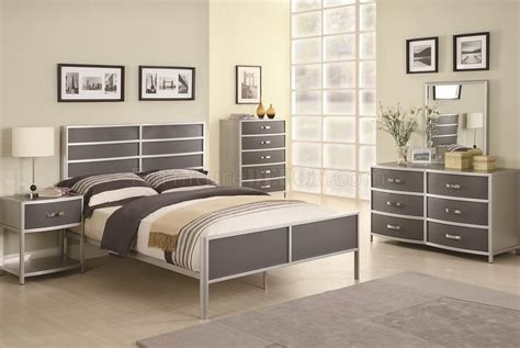 two tone bedroom furniture two tone finish modern 4pc kid s bedroom set
