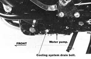 Brake Fluid In Water Cooling System Solved How To Change Cooling Fluid On Honda Shadow Vt600