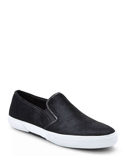 kenneth cole womens sneakers kenneth cole reaction black slip on sneakers in black lyst