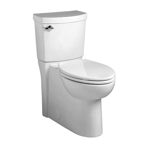 lowes bathroom commodes shop american standard clean 1 28 gpf 4 85 lpf white