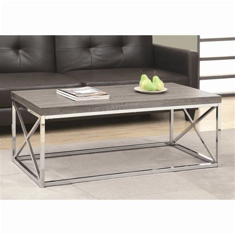 Shop Monarch Specialties Dark Taupe Coffee Table At Lowes Com Coffee Table Shop