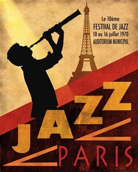 jazz print 60s jazz club decor music poster jazz home 1970 jazz in paris fine art print vintage music art