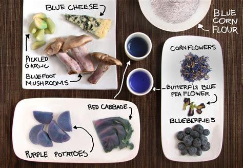 blue food blue food roundup kitchen table scraps