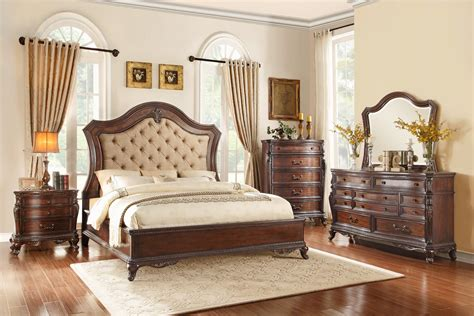 homelegance bonaventure park upholstered bedroom set