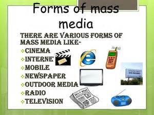 mass media and cinema