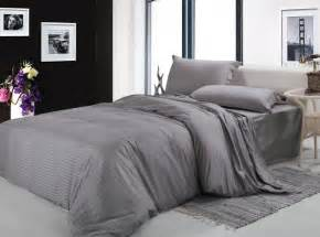 King Size Bed Blanket Set Free Shipping100 Cotton Fabric Silver Gray White 4pcs