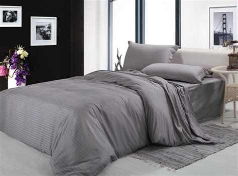 gray king size comforter free shipping100 cotton fabric silver gray white 4pcs