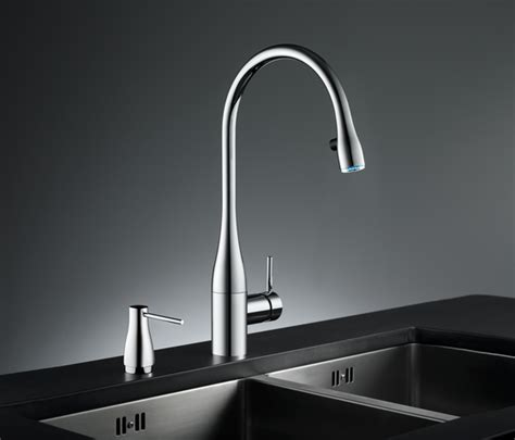 kwc eve kitchen faucet new kwc eve faucet glowing water kwc eve by kwc lever mixer pull out aerator covered
