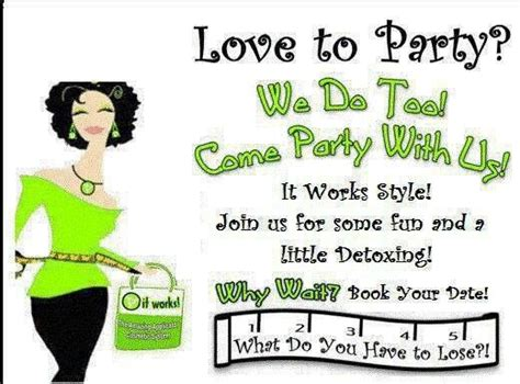 how to select the it works party invite printable egreeting ecards