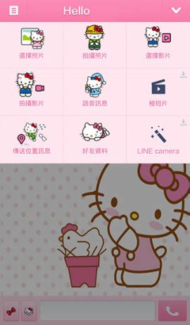 theme line android hello kitty jeffri jeffri