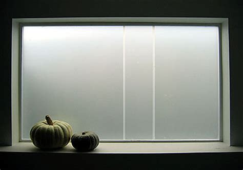 Screen Blinds Frosted Window Etch