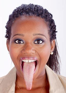 meet the girl with the longest tongue in the world video meet woman with the longest tongue in the world