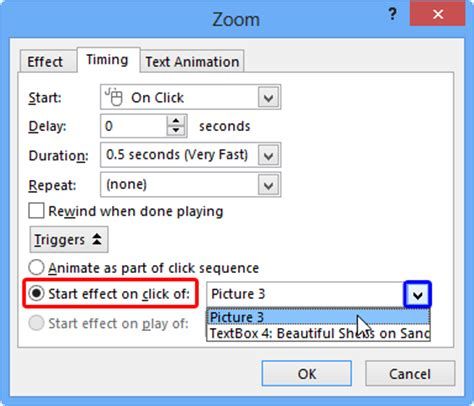 tutorial trigger powerpoint trigger animations in powerpoint 2013 for windows