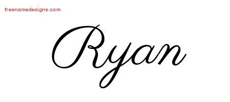 ryan archives page 2 of 3 free name designs