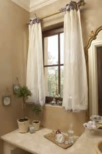 Window Curtains For The Bathroom » Home Design 2017