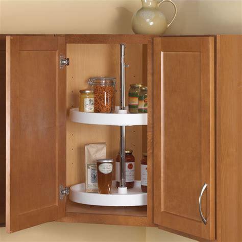 kitchen cabinet lazy susan knape vogt polymer full round 2 shelf lazy susans for