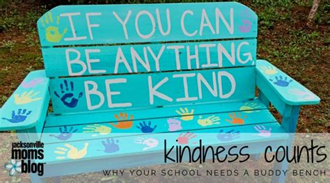 buddy bench at school kindness counts why your school needs a buddy bench