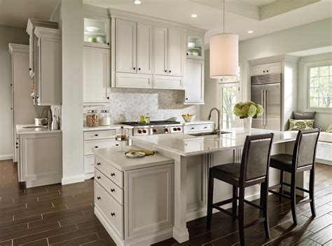 decora kitchen cabinets decora cabinetry s braydon manor door style in crushed ice