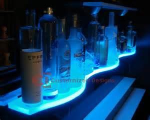 lighted floating shelves led glass bar shelves lighted floating shelves led bar shelves pinterest