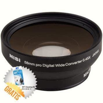Nisi Wide Converter 0 7 58mm harga lensa nisi 0 7mm wide converter anti vignetting 52mm