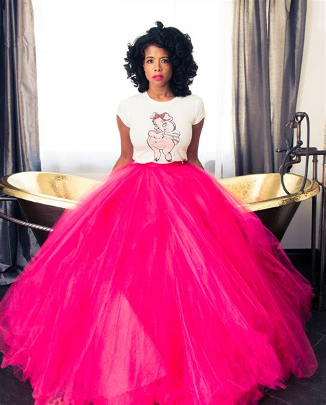 diy length tulle skirt erica bunker diy style the of cultivating a stylish