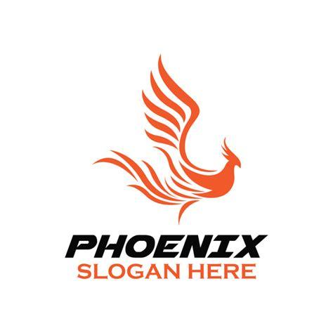 creative phoenix logo set vector 02 vector animal