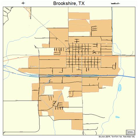 brookshire texas map brookshire texas map 4810636