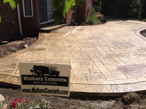 Sted Concrete Patio Designs Concrete Llc Sted Design Concrete Patio