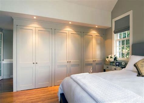 bed in closet ideas built in closet wall great storage space home