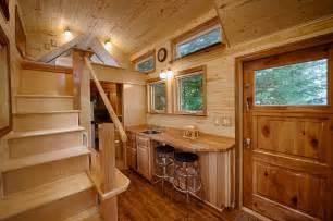 a tiny house with a sauna island cottages