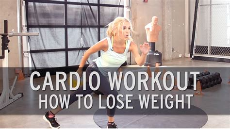 cardio workout how to lose weight doovi