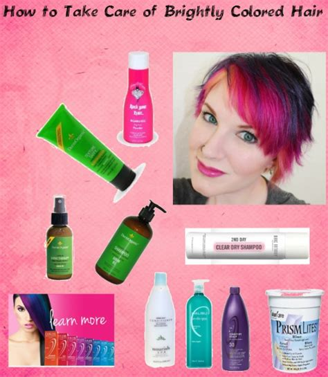 how to take care of colored hair how to take care of brightly colored hair colored hair