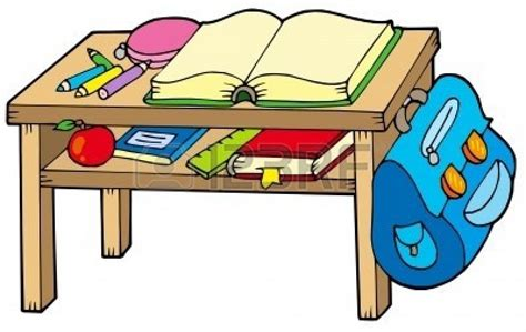 student desk clipart organized student desk clipart clipartsgram
