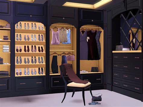 Sims 3 Closet flovv s brown cherry closet
