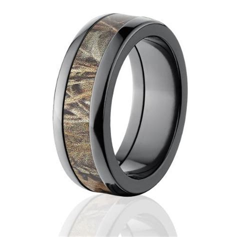 realtree max 4 camo rings camouflage wedding rings