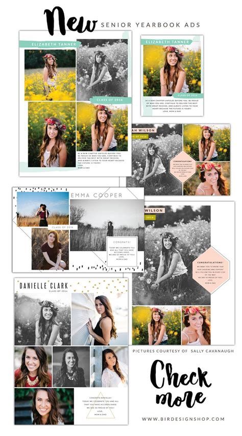 yearbook ad templates free 25 best ideas about senior ads on senior