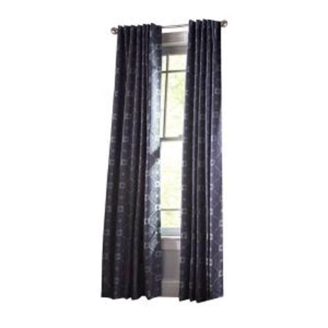 martha living curtains martha stewart living zinc diamond sky grommet curtain