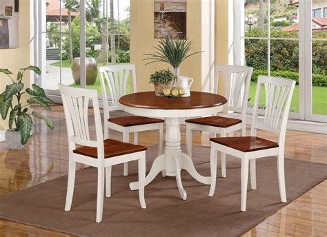 white and brown kitchen table set kitchen table set for 4 a complete design for small