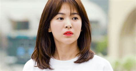 Model Rambut Song Hye Kyo by Breaking Song Hye Kyo Answers Quot Are You With
