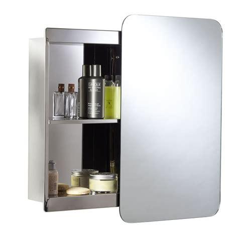 Croydex Medway Sliding Mirror Bathroom Cabinet