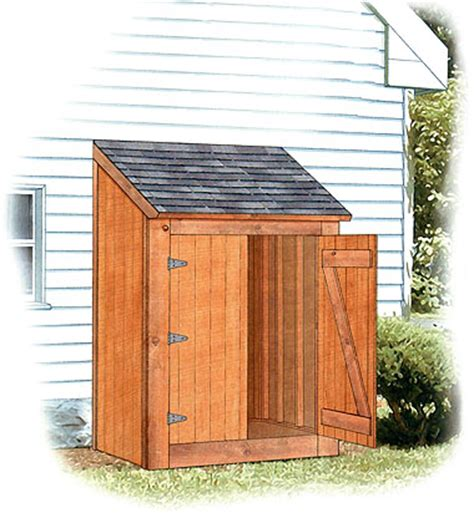Exterior Storage Sheds Diy Outdoor Storage Shed Plans Furnitureplans