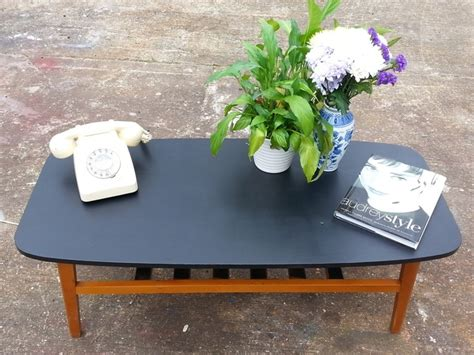 retro teak coffee table upcycled home ideas and spaces