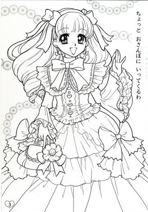 japanese zero coloring page japanese shoujo coloring book 2 coloring pages